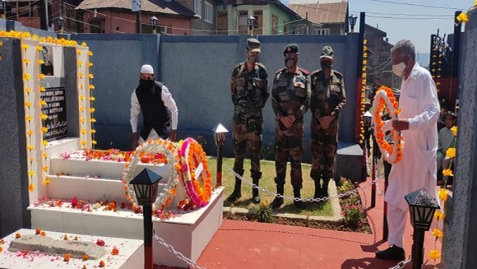 मकबूल शेरवानी भारतीय सेना