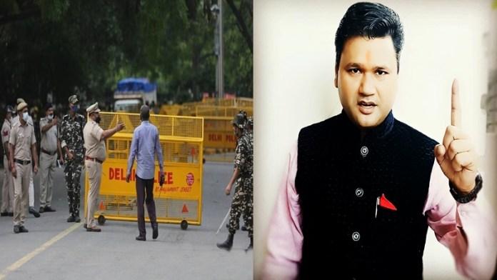 हिंदू आर्मी के प्रमुख सुशील तिवारी गिरफ्तार
