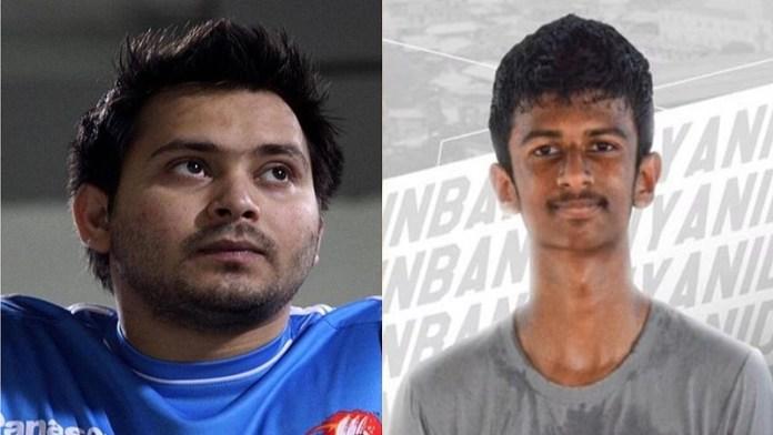 तमिलनाडु CM पोता फुटबॉल
