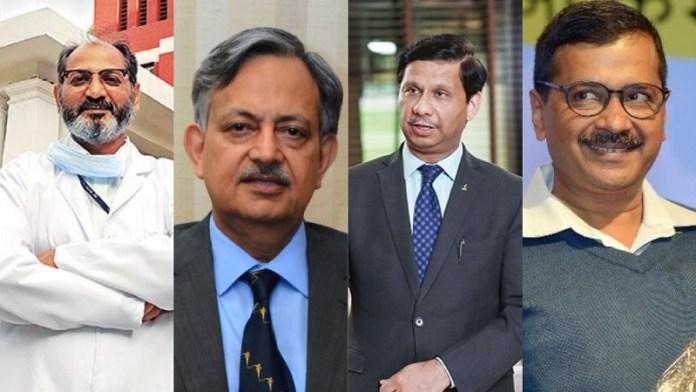 दिल्ली सरकार, पद्म अवॉर्ड्स, डॉक्टरों