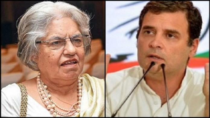 राहुल गाँधी के बचाव में SC की वकील इंदिरा जयसिंह ने कानूनों को लेकर बोला झूठ