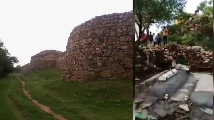 किला रे पिथौरा, मजार