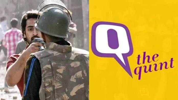 The Quint, शाहरुख़ पठान
