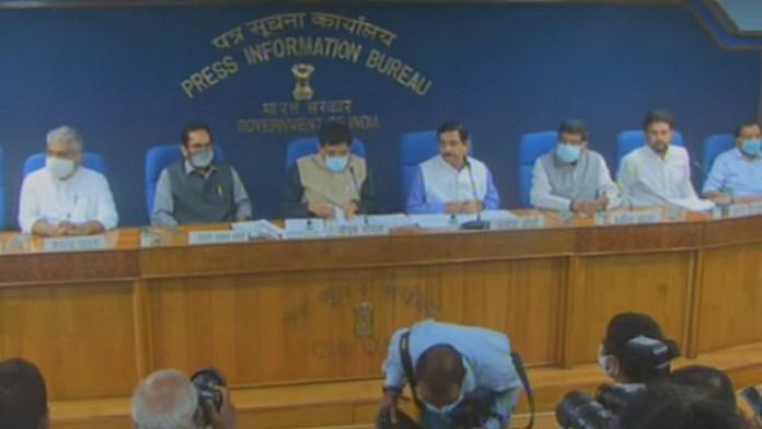 संसद सत्र, 8 मंत्रियों, प्रेस