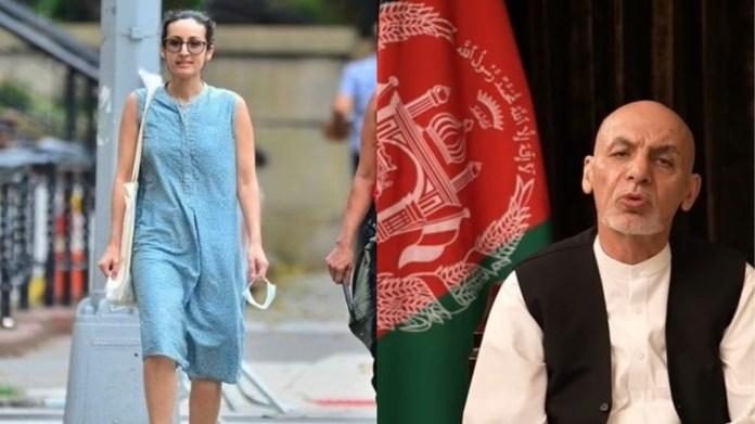 अफगानिस्तान के राष्ट्रपति अशरफ गनी और बेटी मरियम गनी