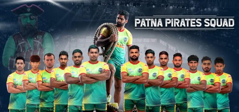 Patna Pirates Team Season 7