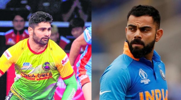 Virat Kohli and Pardeep Narwal