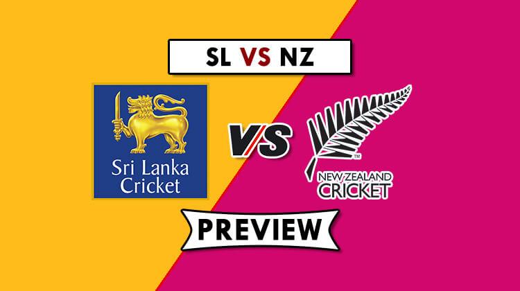 SL vs NZ Dream11 Prediction