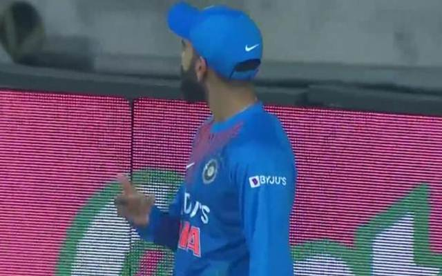 India vs West Indies 2nd T20I Virat Kohli Miffed With Crowd For Chanting Dhoni Name After Rishabh Pant Dropped A Catch