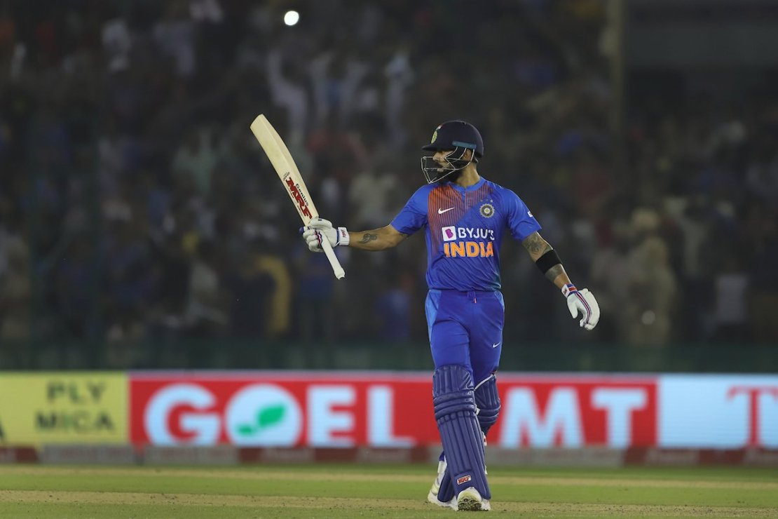 Indian Captain Virat Kohli On Verge Of Achieving A Massive T20I World Record
