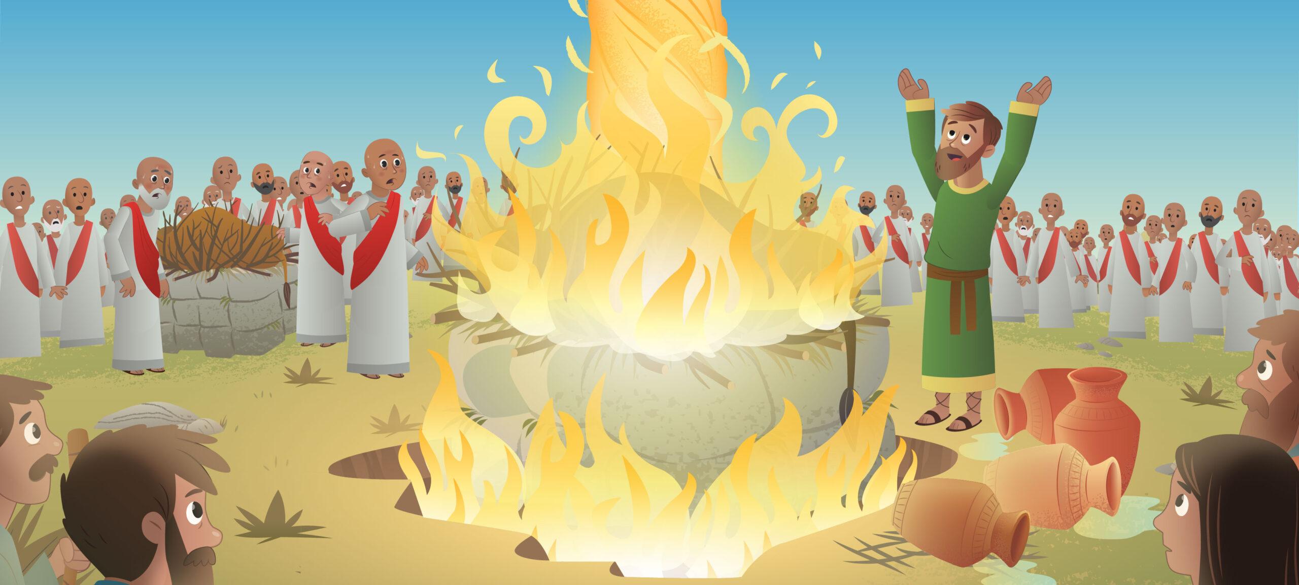 Elijah Bible Story in Hindi
