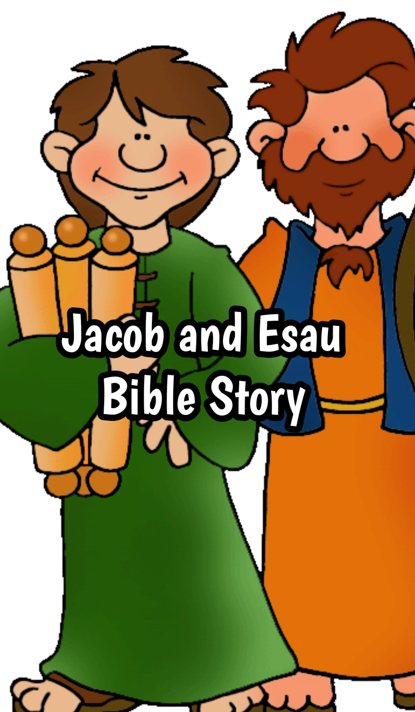 Jacob and Esau Bible Story in Hindi