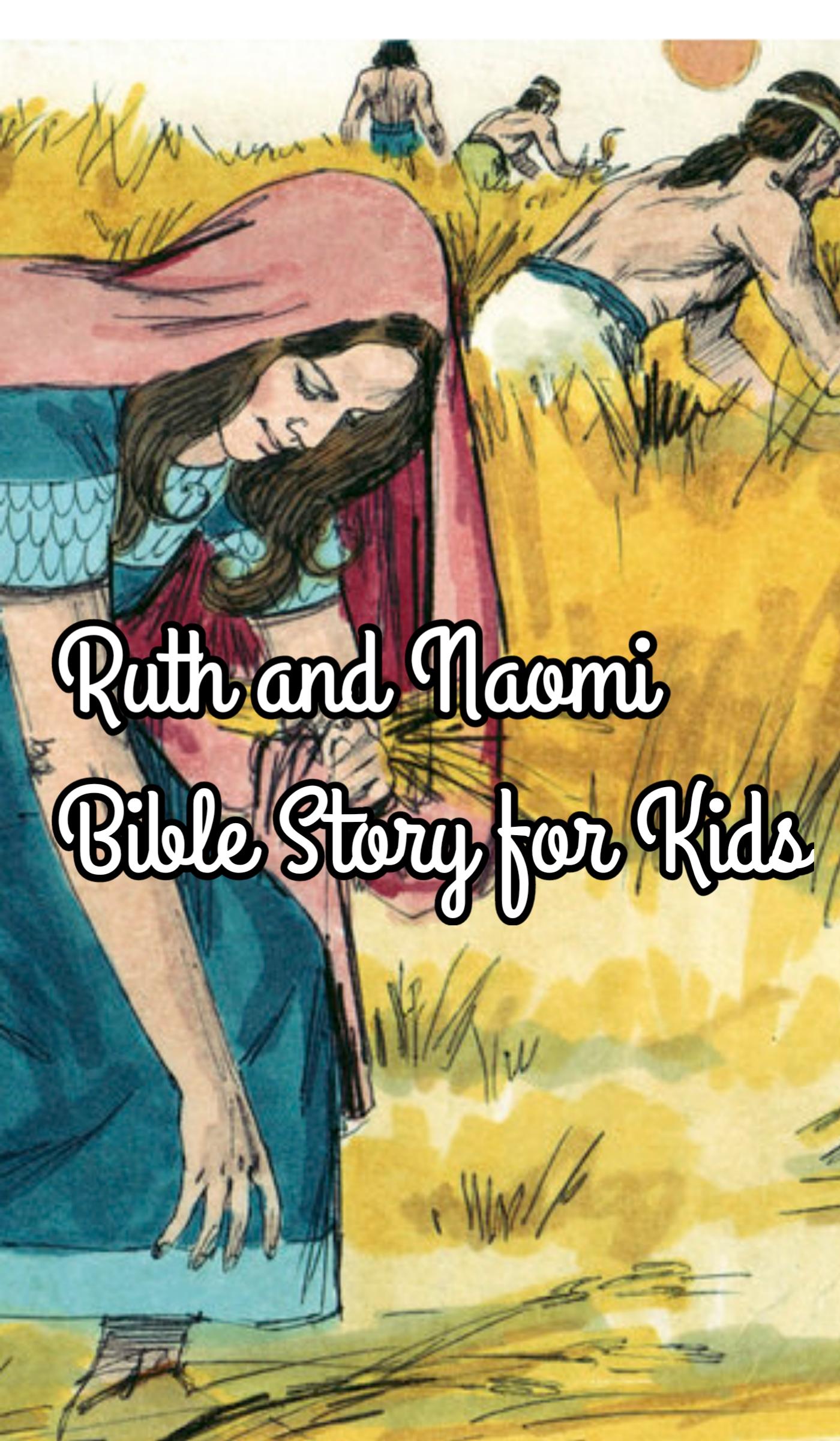 Ruth and Naomi Bible Story in Hindi