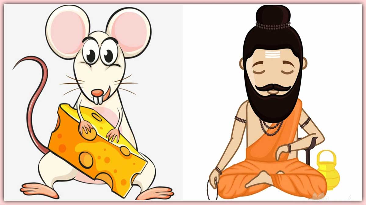 साधु और चूहे की कहानी The Hermit And The Mouse Story In Hindi