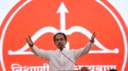 Uddhav Thackarey in rally