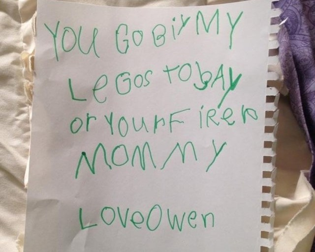 20 Notes From Kids That Are Better Than Any Hollywood Screenplay