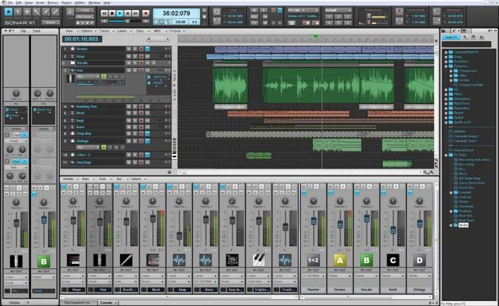 Cakewalk SONAR for Music Production