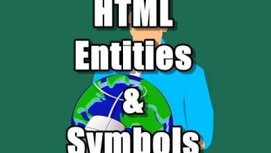 Photo of HTML Entities & Symbols Tutorials in Hindi – Part 16