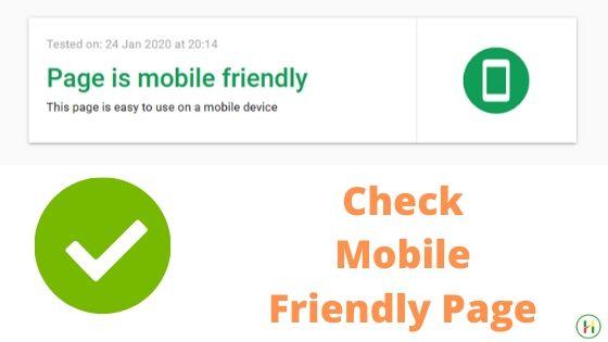 SEO Tactics & Methods : Optimize for Mobile