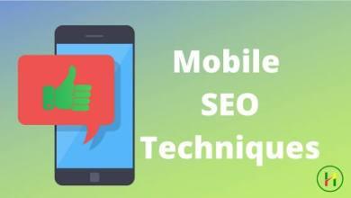 Photo of Mobile SEO Techniques क्या है?