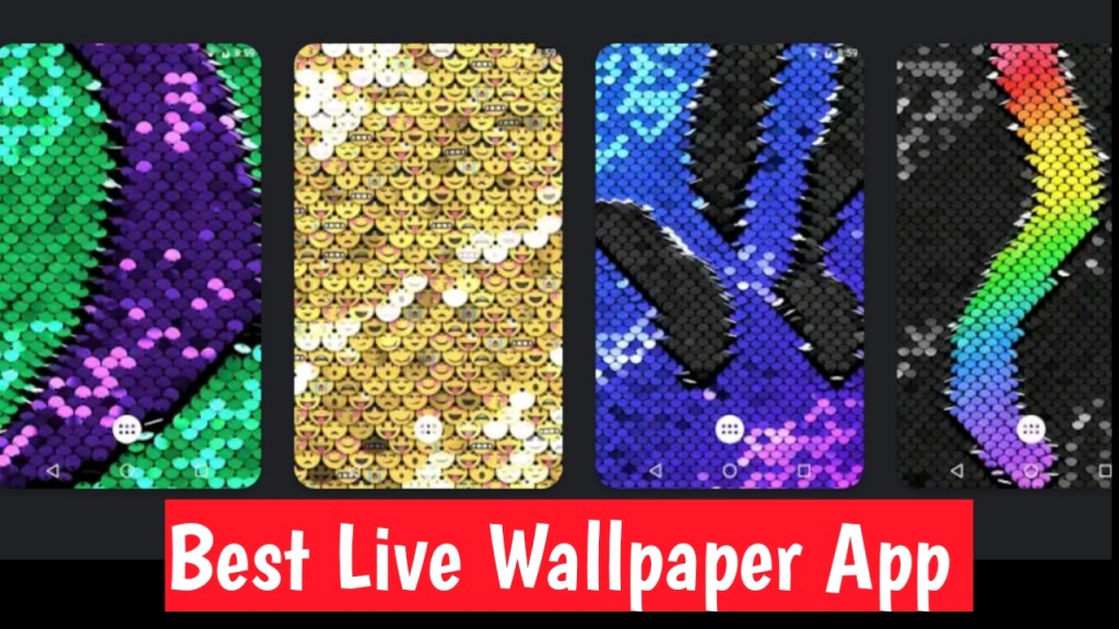 Sequin Flip Live Wallpaper App For Android