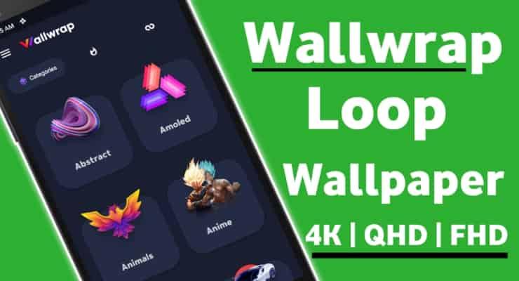 Wallwrap Loop Background Wallpaper