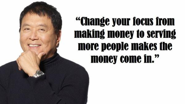 Robert Kiyosaki Motivational Thoughts and Inspirational Quotes