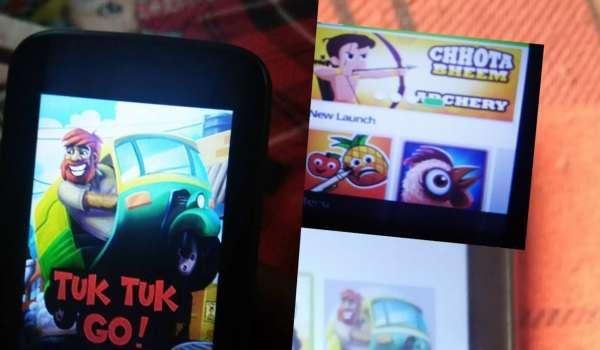 Jio phone me game