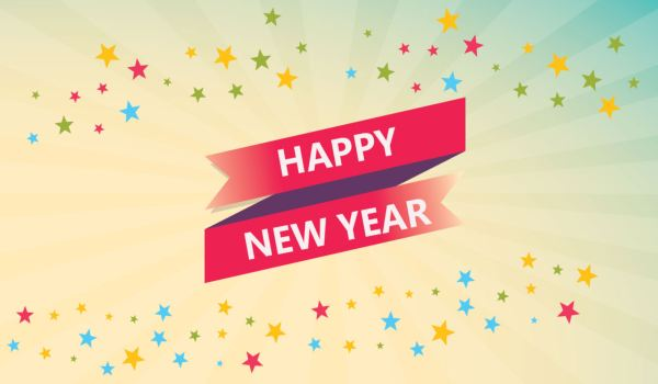 New year dp facebook