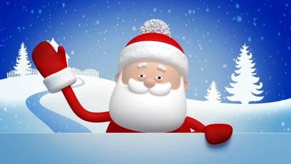 Santa claus 3d images