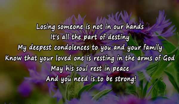 Condolence Messages1