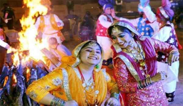 Pictures lohri festival India
