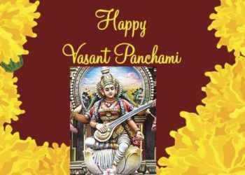 Basant panchami drawing