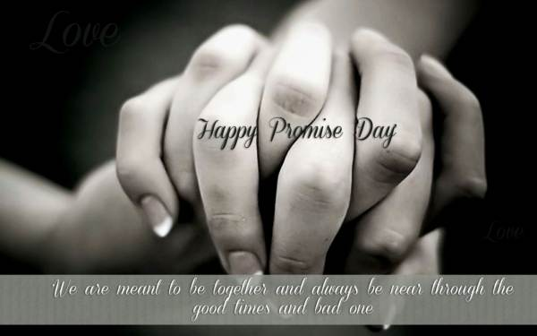 Happy Promise Day day gif