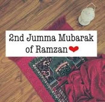 Ramzan ka 2nd jumma mubarak images