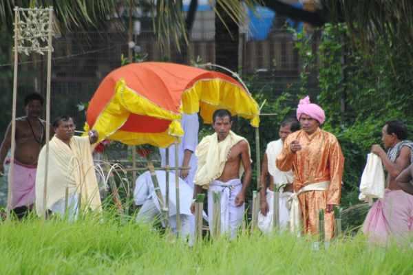 Ker Puja Celebration pics