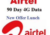 Airtel 90 Day Unlimited 4G i