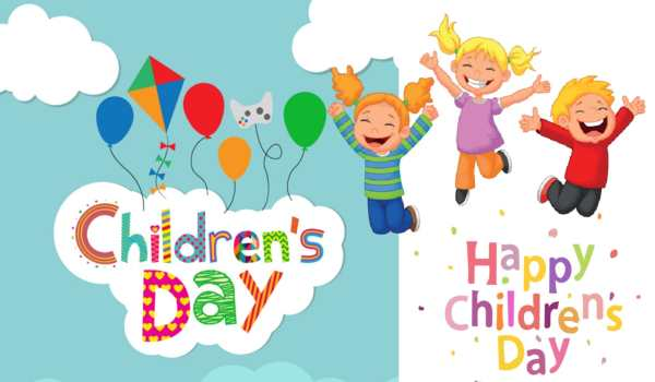 Childrens Day Message 2018 – Happy Children's Day Sms Hindi & English for WhatsApp & Facebook with Images