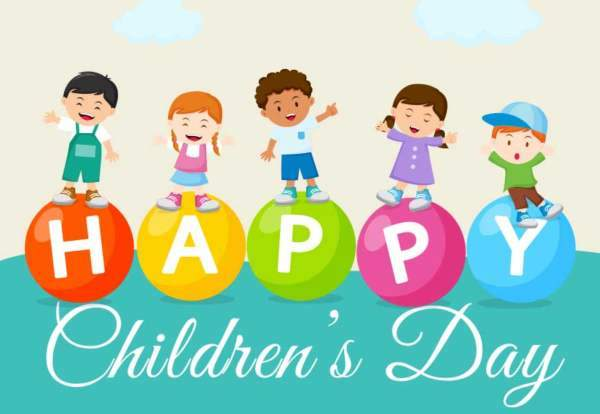Happy Children's Day Image 2018 – Children's Day Images, Pictures, Poster, Photos, Hd Wallpapers for WhatsApp & Facebook