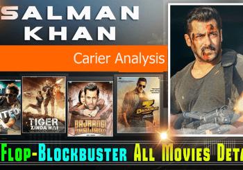 Salman khan blockbuster hit and flop movie list 300crore