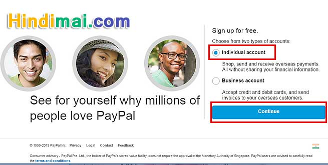 PayPal Account Kaise Banaye, Open PayPal Account, Paypal Par Verified Account kaise banaye, How to create Paypal Account in Hindi, paypal registration, PayPal singup, Steps to Create PayPal account paypal account kaise banaye PayPal Account Kaise Banaye Paypal Account Kaise banaye  003