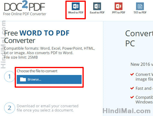 How To Convert Microsoft Word Document into PDF File