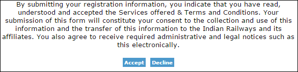 irctc accept terms