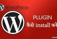 Wordpress plugin install