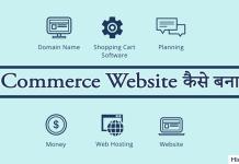 ecommerce website kaise banaye