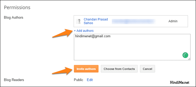 add author to blogger blog