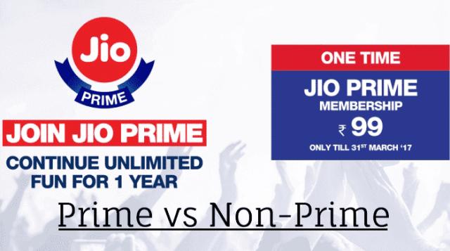 Jio Prime Membership Offer
