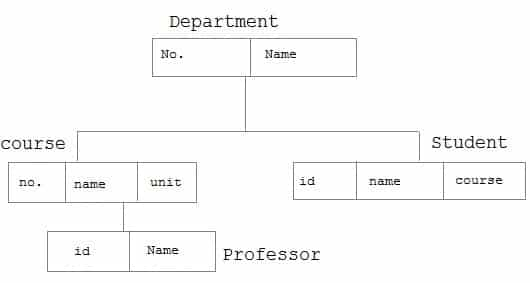 Hierarchical Database Model in Hindi