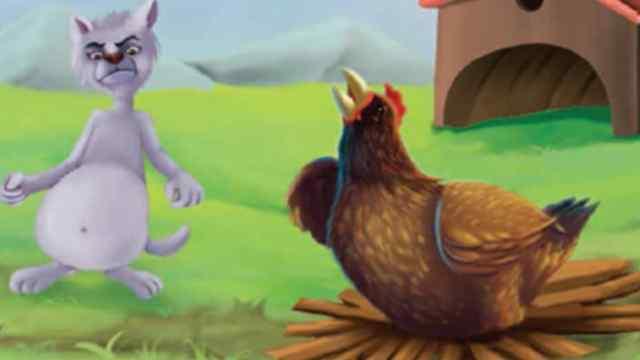 मुर्गी और बिल्ली Moral Story in Hindi