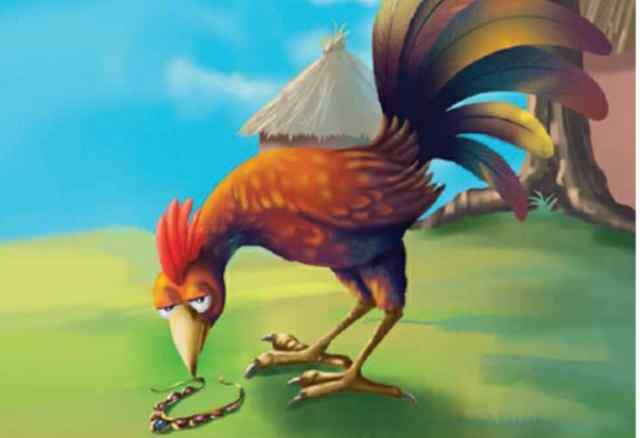 मुर्गे को मिल गया गाना Moral Stories In Hindi